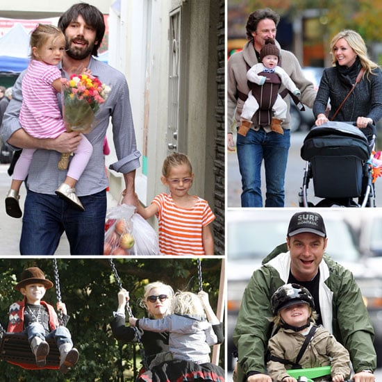 See Celebrity Families Having Fun This Fall!