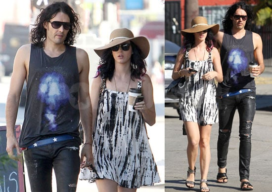 Pictures of Katy Perry and Russell Brand in LA Together 2010-09-18 07:00:00