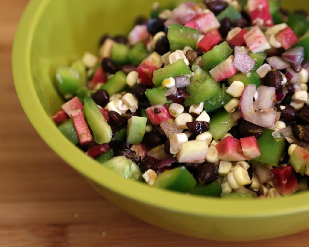 Black Bean, Bell Pepper, and Corn Salad