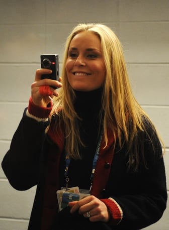 Photos of Lindsey Vonn With Flip Camera