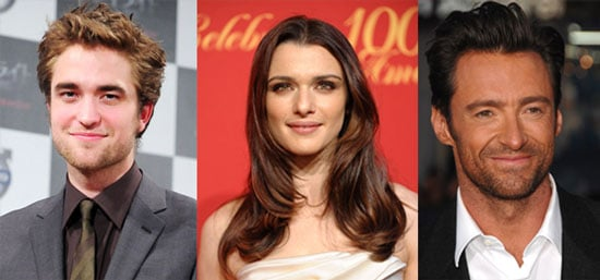 Pattinson and Jackman and Weisz? Oh, My