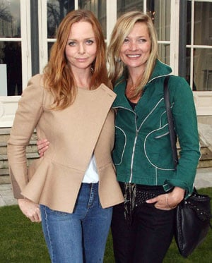 Stella McCartney and Kate Moss at Stella McCartney Autumn/Winter 2010 Collection Presentation in Paris