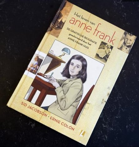 Anne Frank's Diary Published as Graphic Novel