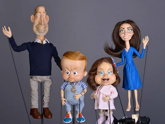 Scary Puppet Alert! Princess Charlotte's Satirical Stand-In Is Even More Terrifying Than George's