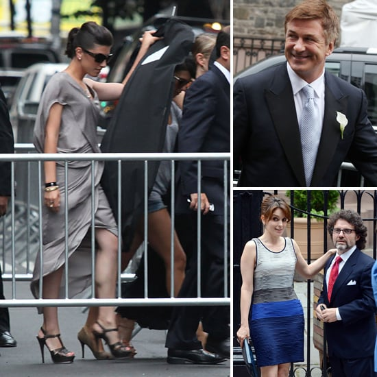 Alec Baldwin and Hilaria Thomas Wedding Pictures With Tina Fey, Woody Allen, Mariska Hargitay