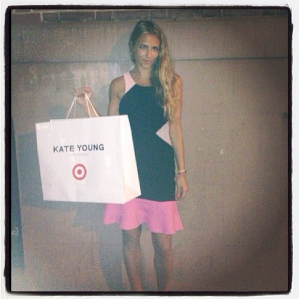 Charlotte Ronson showed off her Kate Young For Target loot. Source: Instagram user cjronson