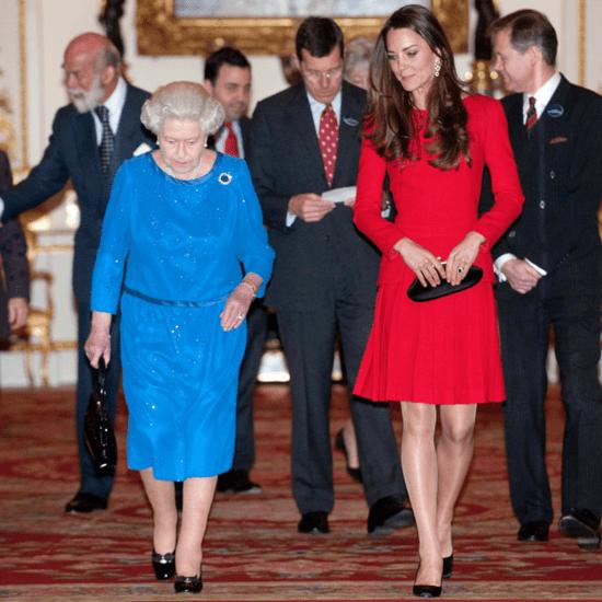 Queen Elizabeth II Honours the Duchess of Cambridge With a New Piece of Jewellery