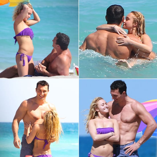 Hayden Heats Up Miami Beach in a Bikini With Her Boyfriend