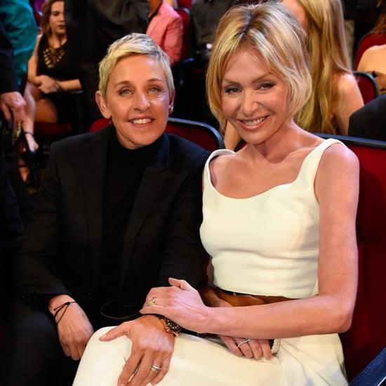 Ellen DeGeneres Portia de Rossi People's Choice Awards 2016