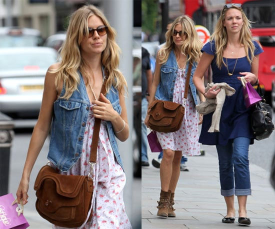 Photos of Sienna Miller Shopping in London