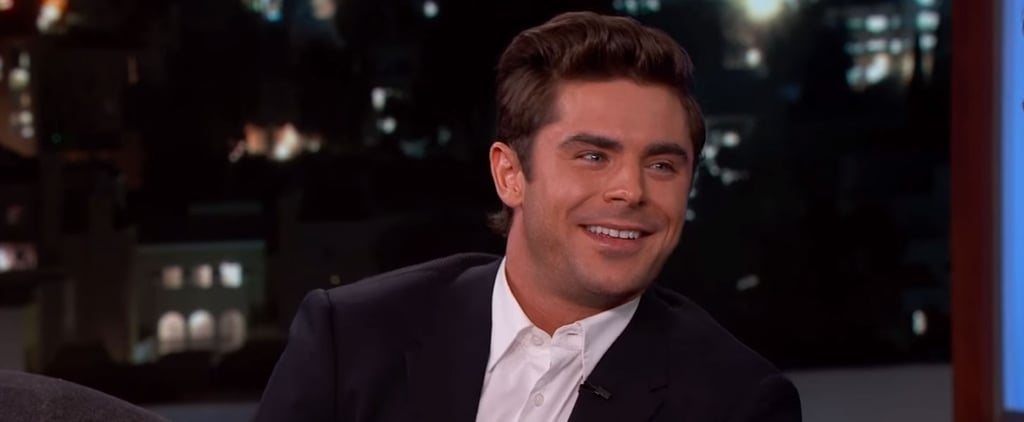 Zac Efron Will Moonwalk Directly Into Your Heart With This Throwback Video of Him in High School