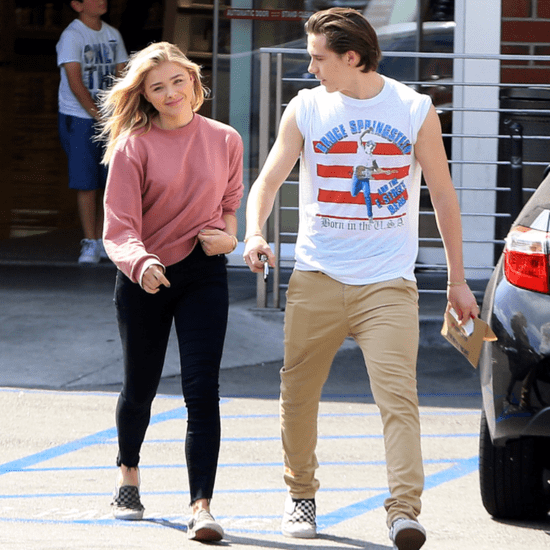 Chloe Moretz and Brooklyn Beckham Hold Hands in LA May 2016