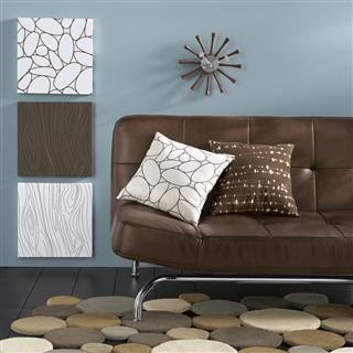 Nice and New: Chiasso Pebbles Rug and Pillow