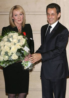 JK Rowling Knighted and Enters French Legion of Honour, plus Roundup of Today's Entertainment News Stories