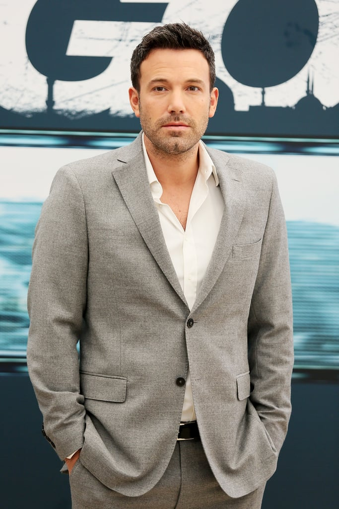 Ben Affleck stepped out to promote Argo in Rome.