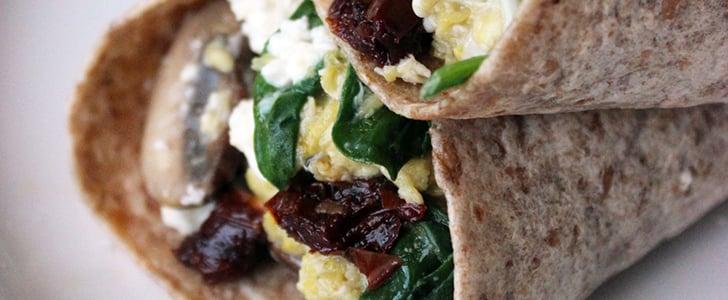 DIY Starbucks Spinach-Feta Wrap