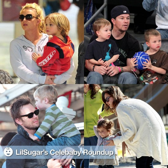 Pictures of Celebrities and Their Babies 2011-02-21 14:45:07