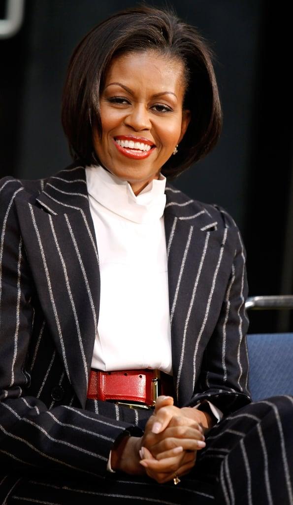 The First Lady Rocks Them Big Time