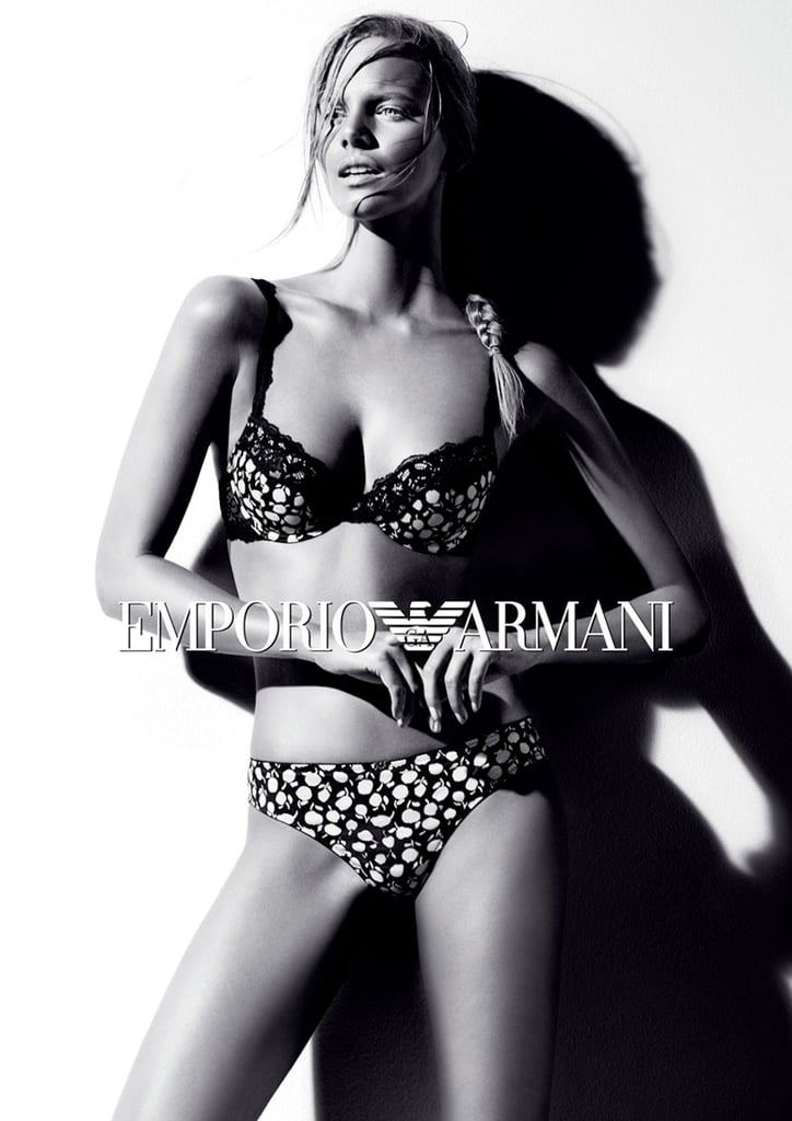 We want all the lingerie showcased in Emporio Armani's Fall '12 ads.