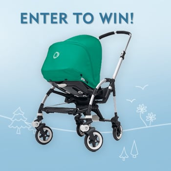 Day 9: Enter to Win a Bugaboo Bee Stroller