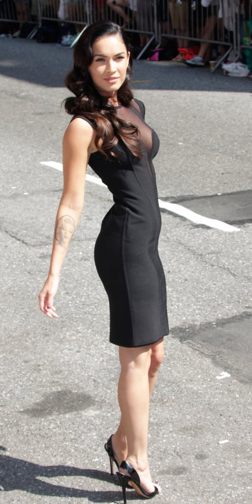 Megan Fox in Hervé Leroux For a 2009 Late Show With David Letterman Appearance