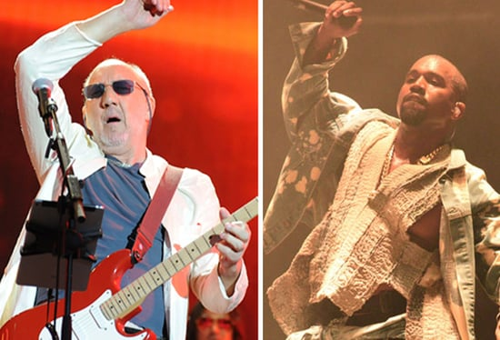 The Who's Pete Townshend, Roger Daltrey Throw Shade at Kanye West at Glastonbury: Details!