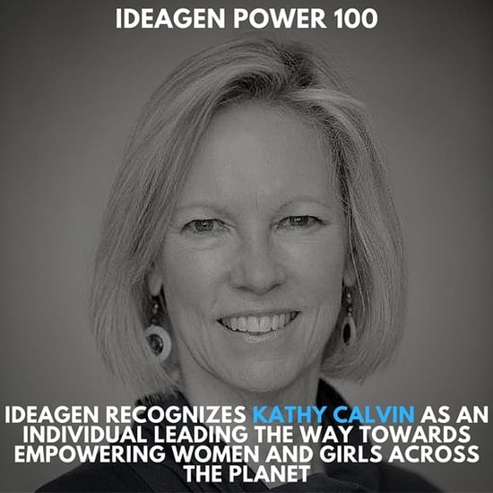 Ideagen Power 100 Exclusive Interview with the UN Foundation's Kathy Calvin with Ideagen's George Sifakis - Part I of the Interv