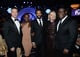 The cast of 12 Years a Slave posed together with director Steve McQueen inside the Producers Guild Awards.