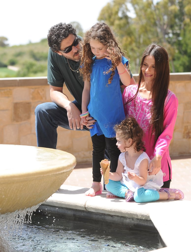 "Soleil Moon Frye says you know you're a mother when...  ""You walk out of the house with your sweater on inside out and spit-up in your hair."""