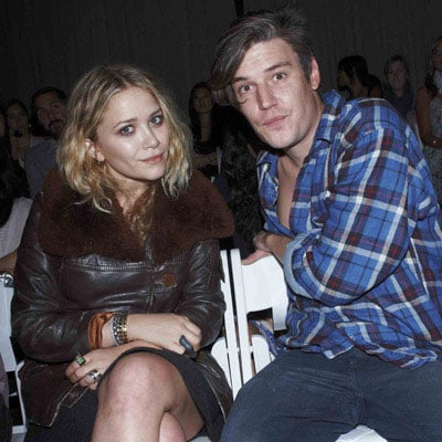 Mary-Kate Olsen and Nate Lowman in NYC