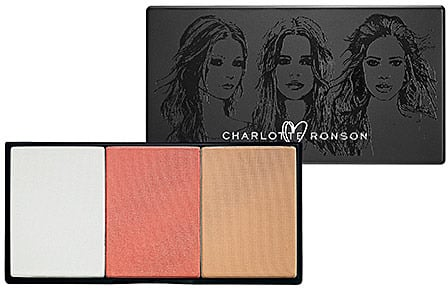 Charlotte Ronson 3 X A Charm Luminizer, Blush, Bronzer