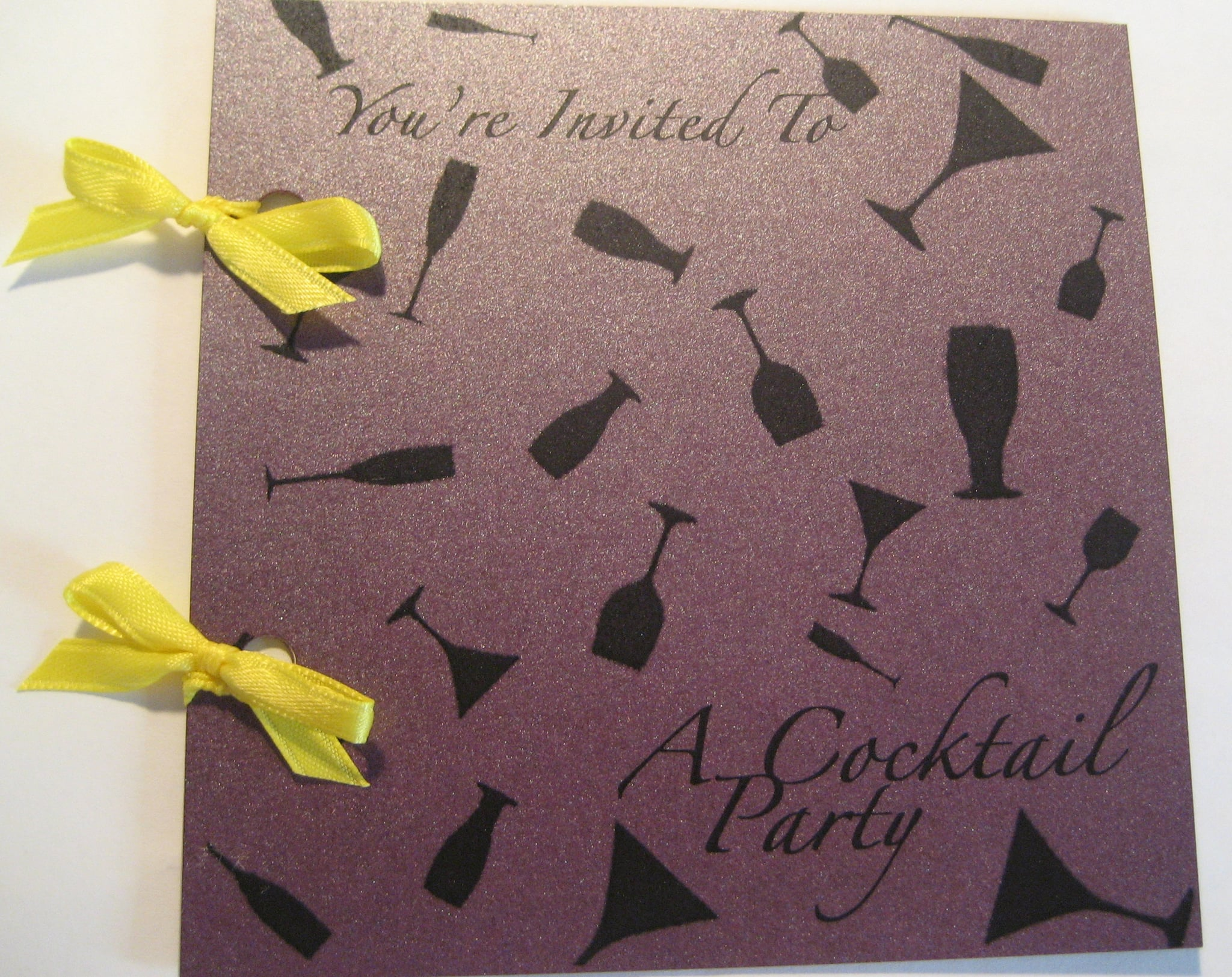 Come Party With Me: My Birthday Party - Invite