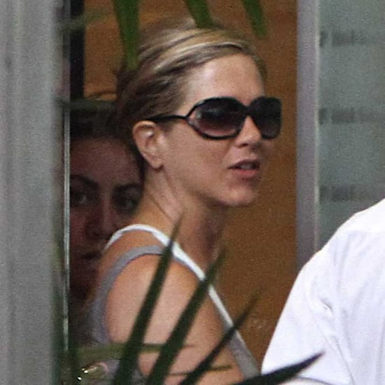 Pictures of Jennifer Aniston in LA After Justin Theroux Rumors
