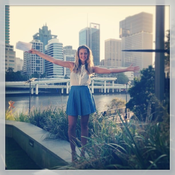 Jesinta Campbell looked so cute and fresh in this perfect summer outfit. Source: Instagram user jesinta_campbell