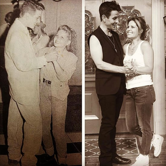 Fuller House's Candace Cameron Bure and NKOTB's Joey McIntyre Reunite on Set: 'Dreams Really Do Come True' - See the Adorable Ph