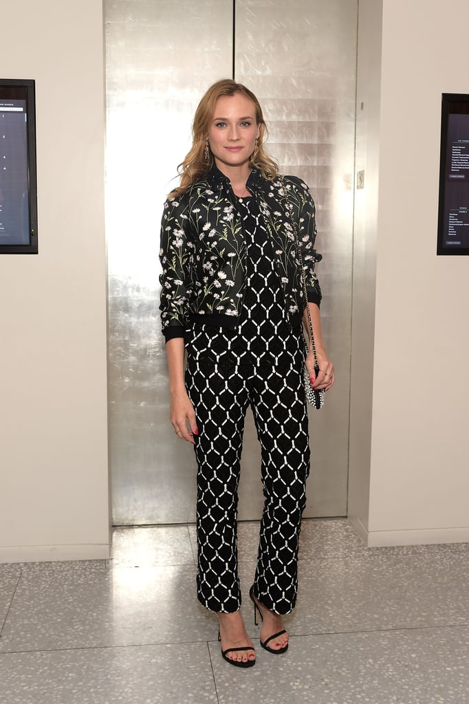 Mixin' things up in Giambattista Valli at a Barneys New York event.