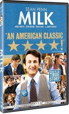 New on DVD, Milk