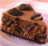 Chocolate Cheesecake + Oreos = Indulge!