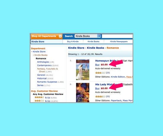 How to Find Free Kindle Books on Amazon
