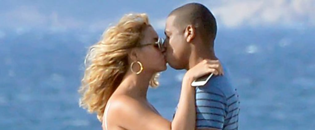 You'll Need to Cool Off After Seeing These Sexy Celebrity Beach PDA Pictures