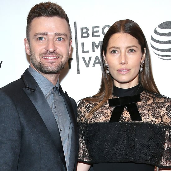 Justin Timberlake and Jessica Biel at Premiere April 2016