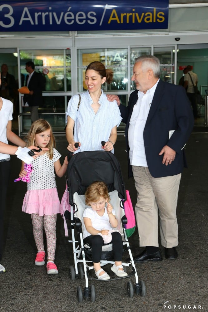 On Tuesday, Sofia Coppola arrived with her daughters in Nice, France, for the Cannes Film Festival.