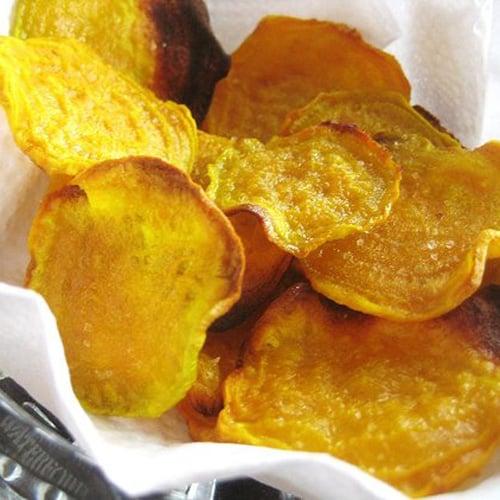 Golden Beet Chips