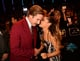 Ariana Grande chatted with Will Ferrell at the MTV EMAs.