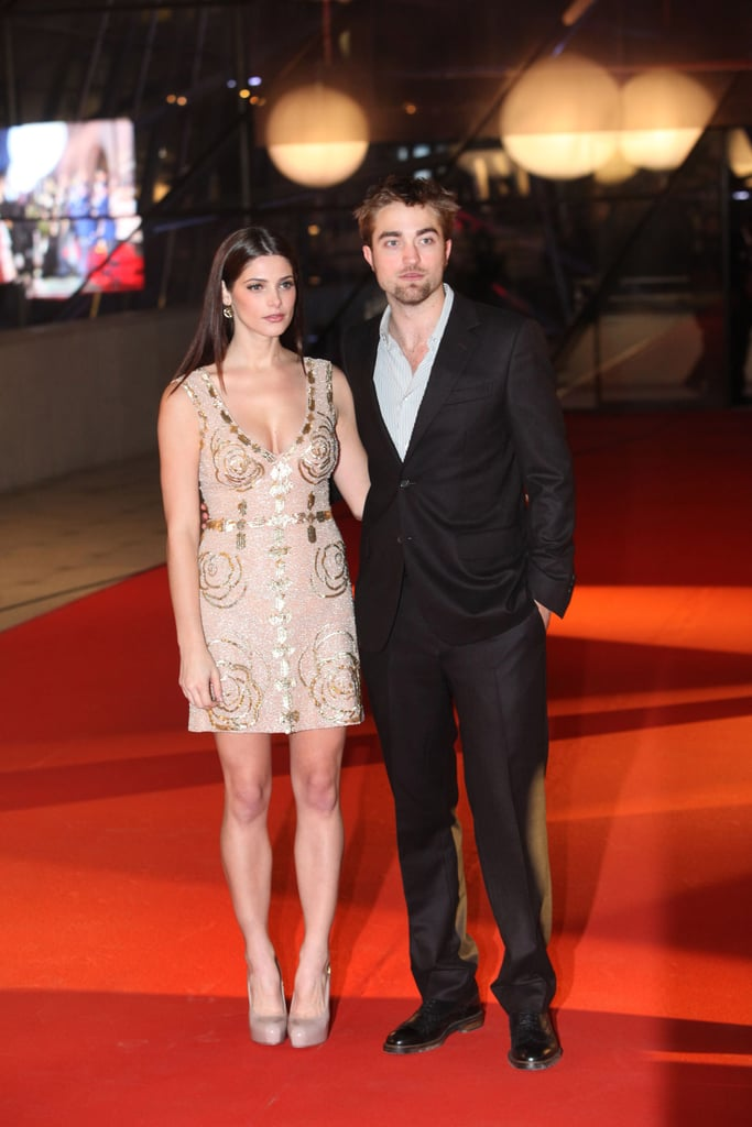 Robert Pattinson and Ashley Greene on the red carpet in Brussels.