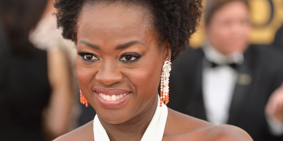Viola Davis' Natural Hair At The 2015 SAG Awards Is Her Crowning Glory
