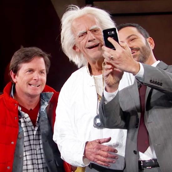 Back to the Future Skit on Jimmy Kimmel Live