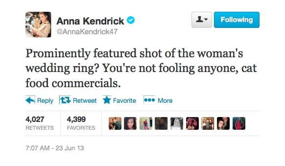 @AnnaKendrick47 knows her cat-food commercials.