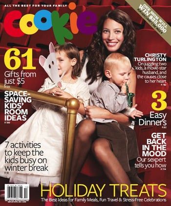 Christy Turlington Is Cookie's Cover Girl