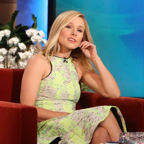 Kristen Bell Interview on Ellen   April 2014